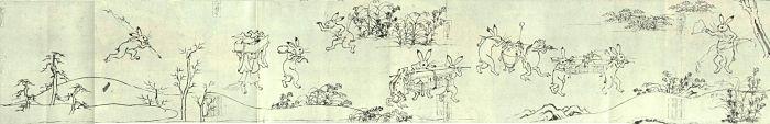Ancient Japanese Pop Culture | Toba Sojo Manga