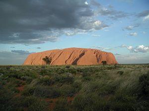 Aboriginal Culture Uluru or Ayers Rock